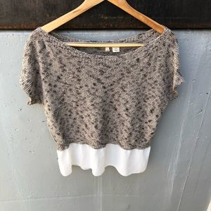 Anthropologie Moth Knit Blouse Size XS EUC